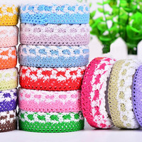 Colorful Lace Knitting Cloth Tape Lace Tape Fashion Accessories = 1929991492