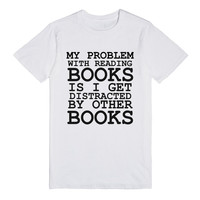 THE PROBLEM WITH READING BOOKS