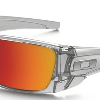 NEW Authentic Oakley Sunglasses Fuel Cell OO9096-H6 Polished Clear Torch Iridium