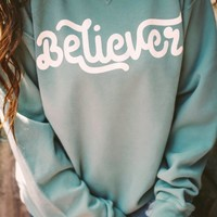Believer Sweatshirt - Green