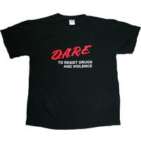 Vintage 90s DARE Shirt Mens Size Large