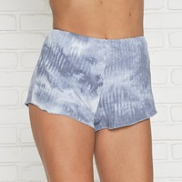 Splash Of Tie Dye Blue Shorts