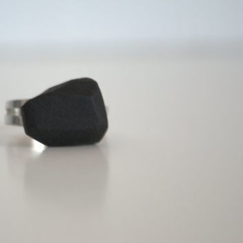Geometric black ring