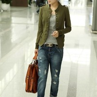 Womens Cool Retro Casual Jacket