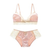 Coffee Cute Drinks On Sale Hot Deal Bra Set Sexy Lace With Steel Wire Soft Cup [8926552579]