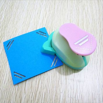 Office and School Supplies Paper Lever Corner Hole Punch Home Decorative Garden Festive Party Papelaria DIY Flowers Wreaths