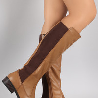 Dollhouse Elasticized Riding Knee High Boots