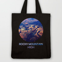Rocky Mountain High Tote Bag by Josrick | Society6
