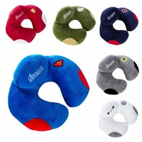 Avengers Charater U Shape Neck Pillow Office Airplane Car Travel Sleep Pillow Neck Body Head Support Home Decorative Pillows