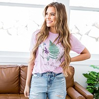 """NEW! """"Wild Thing"""" Lilac Tee"""