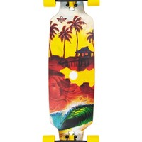 Shacked Drop-through Longboard by Dusters