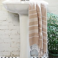 Free People Womens Washed Ashore Beach Towel