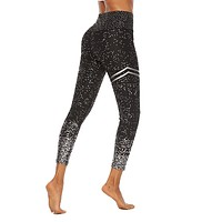 Women Shining Printing Leggings