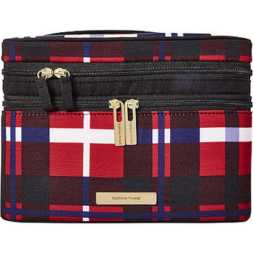 Tartan + Twine Brinton Alley Plaid Double Zip Train Case Ulta.com - Cosmetics, Fragrance, Salon and Beauty Gifts