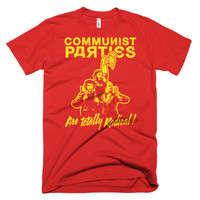 Communist Parties Are Totally Radical T-Shirt