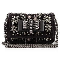 Sweety Charity Brode Suede Strass