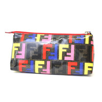 Fendi Cosmetic Clutch Large 7N0038 Pastello Red