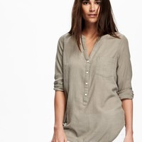 Long-Sleeve Tunic for Women | Old Navy