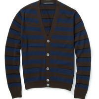 Marc by Marc Jacobs Striped Merino Wool Cardigan | MR PORTER