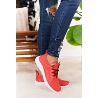 Running To You Sneakers (Coral)