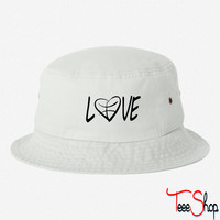 love basketball bucket hat