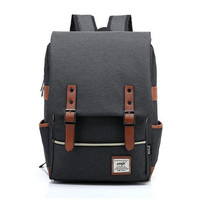 Fashion sports Preppy Style casual business laptop backpack