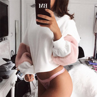 Winter Women's Fashion Hot Sale Long Sleeve Stylish Round-neck Hoodies [11735070287]