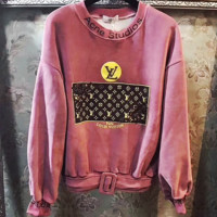 LV lie fallow Nail bead Sweater