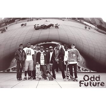 Odd Future / Tyler the Creator in Chicago Poster 24x36