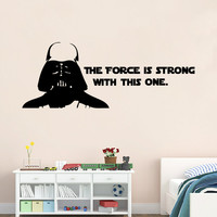 Stylish Star Wars Wall Sticker (42*32cm)