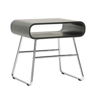 Curved Edge Retro End Table
