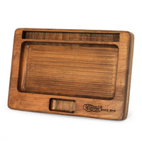 BEAMER JuJu Natural Bamboo Rolling Tray (Small)