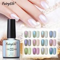 FairyGlo 10ML Nail Polish Shell Mermaid Stamping Paint Nail Polish Nail Art Nagellak Soak Off Nail Gelpolish Vernis a Ongle Ink