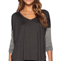 Feel the Piece Scout Sweater in Gray