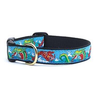 Dragon & Koi Dog Collar