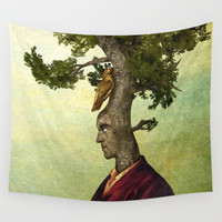 Tenacious Wall Tapestry by Diogo Verissimo