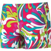 """Reebok Women's 3"""" Printed Compression Shorts - Dick's Sporting Goods"""