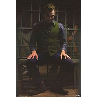 Batman The Joker Jail Cell DC Comics Poster 22x34
