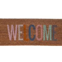Welcome door mat - coloured