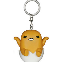 Funko Sanrio Pop! Gudetama Vinyl Key Chain Hot Topic Exclusive