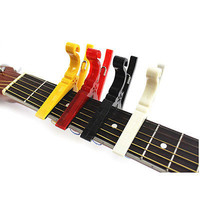 Durable Quick Change Turn Clamp Key Capo For Acoustic Electric Classic Guitar