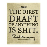 Hemingway The First Draft Poster
