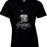 G Eazy When Its Dark Out Cover With Logo Womens T Shirt