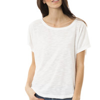 Samantha - Women's Slub Dolman Top