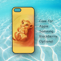 Lion King -  iphone 4S case,iphone 5 case, ipod 4, ipod 5 , Samsung note 2, Samsung galaxy S3, Samsung galaxy S4, blackberry z10, q10
