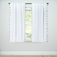 Tassel Lightblocking Curtain Panel - Pillowfort™ : Target