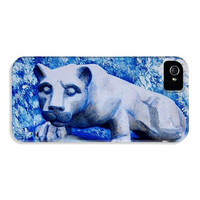 Psu Cell Phone Case Samsung Galaxy S4 / S5 iPhone 4S / 5 / 6 Plus - Penn State Gift Nittany Lions Blue and White - College Gifts