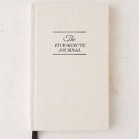 The Five-Minute Journal By Intelligent Change | Urban Outfitters