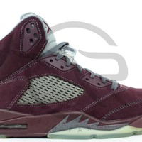 AIR JORDAN RETRO 5 LS - BURGUNDY