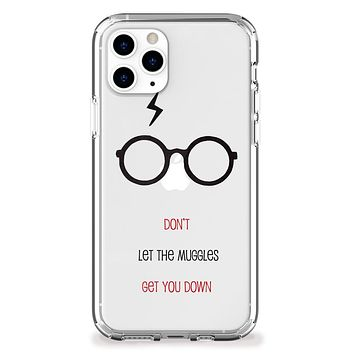 Don't Let Them Get You Down iPhone Case